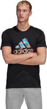 adidas Camiseta 8-Bit Badge of Sport hombre
