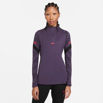 Nike Camiseta Manga Larga Dri-Fit Academy mujer Púrpura