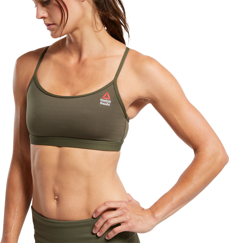 Reebok - Sujetador deportivo Skinny Bra - Mujer - Sujetadores deportivos - S