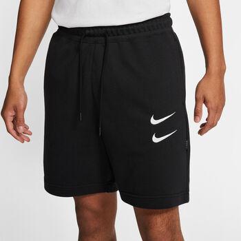Nike Pantalón corto SPW French Terry hombre Negro