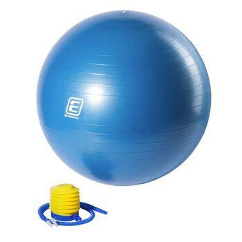 Energetics Gymnastic Ball Con Hinchador Azul