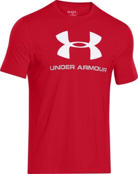 Under Armour Sportstyle Camiseta manga corta con logo Hombre Rojo