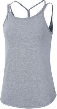 Nike Camiseta sin mangas Yoga Strappy Rip mujer Azul