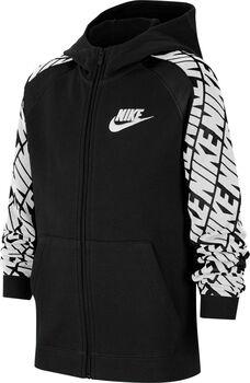 Nike Chaqueta Sportswear Big Kids' (Boy Negro