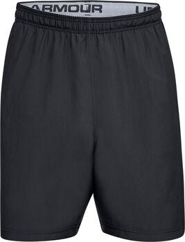 Under Armour Pantalón corto  Woven Graphic Wordmark para hombre Negro