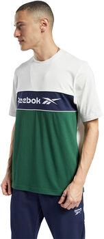 Reebok Camiseta de manga corta linear hombre