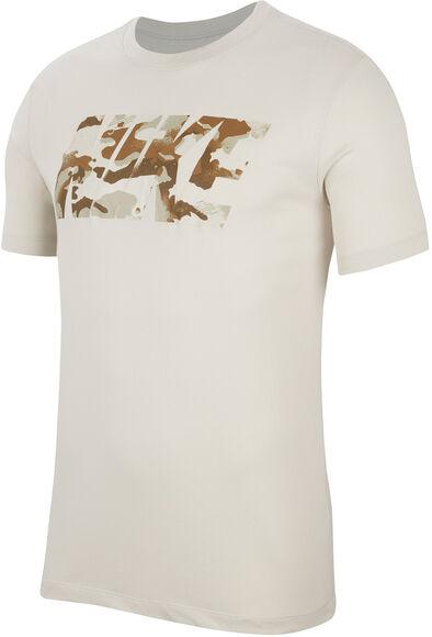 Camiseta Manga Corta Dry Camo Logo