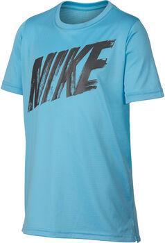 Nike Camiseta de entrenamiento de manga corta Dri-FIT niño Azul