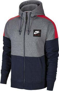 Nike Sportswear Hoodie Air Fz Flc Hombre Negro