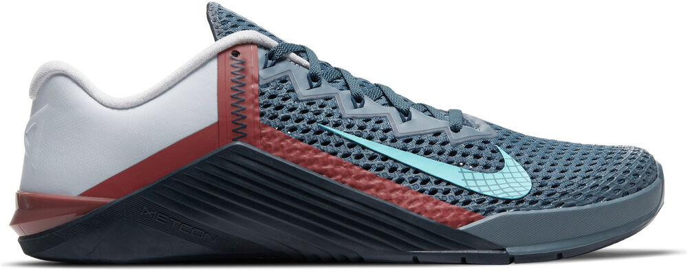 Nike -  Metcon 6 - Hombre - Zapatillas Fitness - Gris - 8dot5