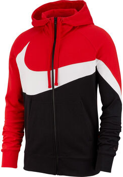 Nike Nsw HBR HOODIE FZ FT STMT hombre Rojo