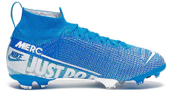 Nike Bota JR SUPERFLY 7 ELITE FG Azul