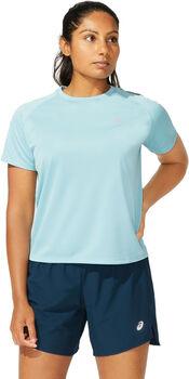 ASICS Camiseta manga corta ICON TOP mujer Azul