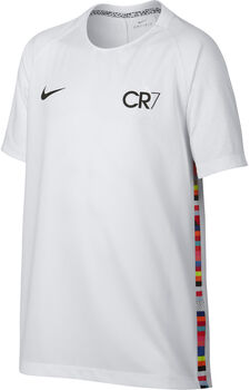 Nike CR7 Dri-FIT Camiseta Manga Corta Fútbol de  niño Blanco
