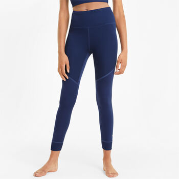 Puma Leggings Studio Ribbed High Waist 7/8 mujer Negro