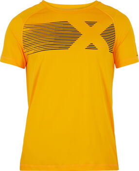 ENERGETICS Camiseta Manga Corta Massimo III hombre Amarillo
