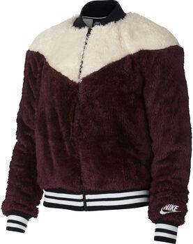 Nike Sportswear Jacket Bomber Wolf  mujer Rojo