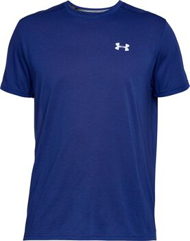 Under Armour Threadborne Streaker SS Hombre Azul