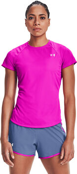 Under Armour Camiseta manga corta Speed Stride mujer Rosa