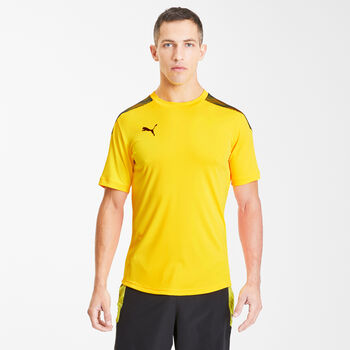 Puma Camiseta de manga corta Pro hombre Amarillo