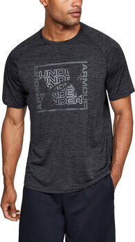 Under Armour Camiseta m/c  Tech Graphic SS-BLK hombre