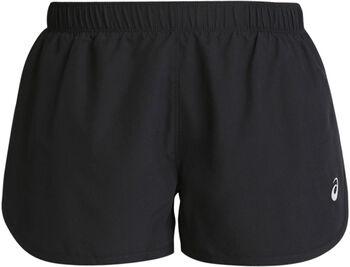 Asics Pantalones cortos plateados recortados mujer
