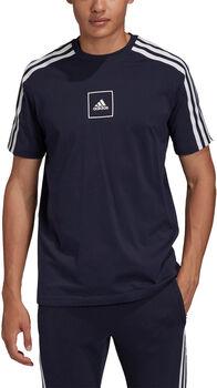 adidas Camiseta Manga Corta Tape 3-Stripes hombre
