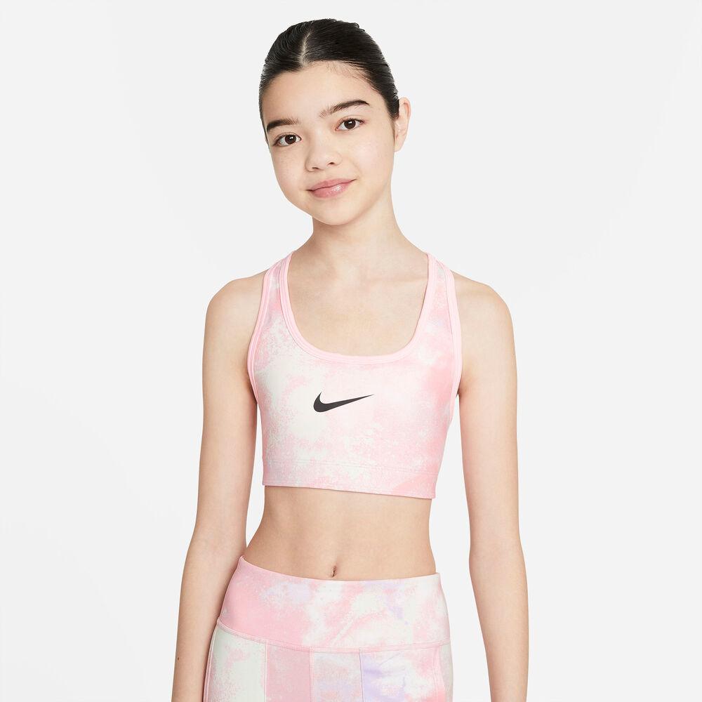 Nike - Sujetador deportivo Swoosh Big Kids' - Niña - Sujetadores deportivos - Rosa - XS