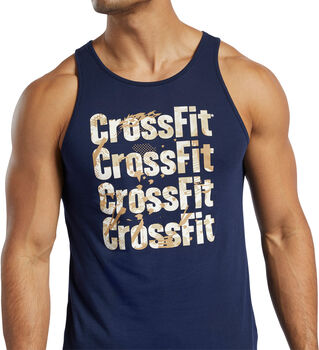 Camiseta sin mangas Reebok CrossFit® Games Logo hombre