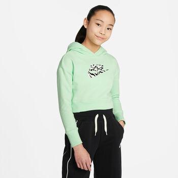 Nike Sudadera Sportswear Jr niña Verde
