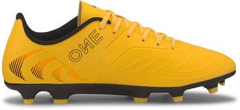 Puma Botas de fútbol ONE 20.4 FG/AG hombre Amarillo