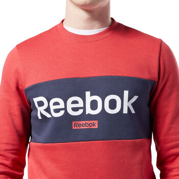 Reebok Sudadera TE Big Logo Crew hombre