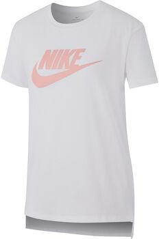 dcfd3d18ec Nike Sportswear Girls  T-Shirt niño Blanco