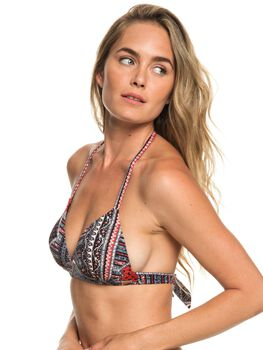 Roxy Romantic Senses - Top de Bikini Triangular Moldeado para Mujer