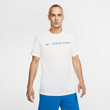 CamisetaNK DRY TEE NIKE PRO hombre Blanco