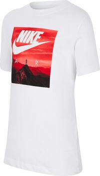 Camiseta Manga Corta Nike Air Big Kids' (Boys') T-S Blanco