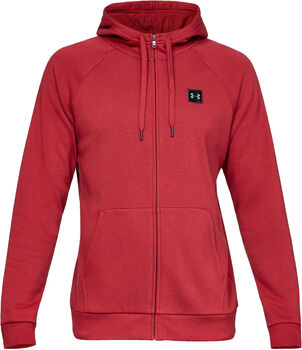 Under Armour Rival Fleece FZ Hoody hombre Rojo