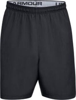 Under Armour Pantalón corto UA Woven Graphic Wordmark para hombre Negro