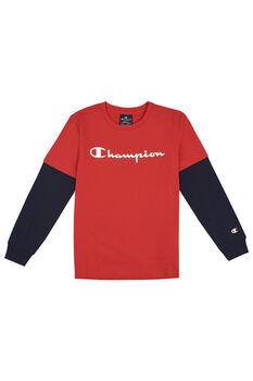 Champion Camiseta Manga Larga Logo niño