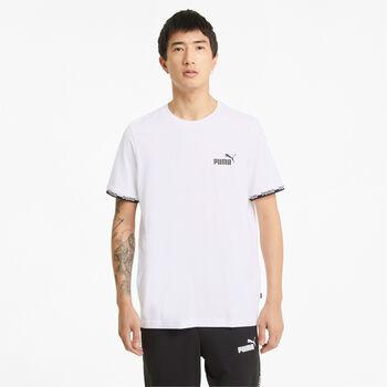 Puma Camiseta manga corta Amplified mujer Blanco