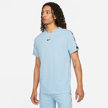 Nike Camiseta manga corta Repeat hombre Azul