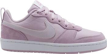 Nike Zapatilla COURT BOROUGH LOW 2 PE GS Rosa