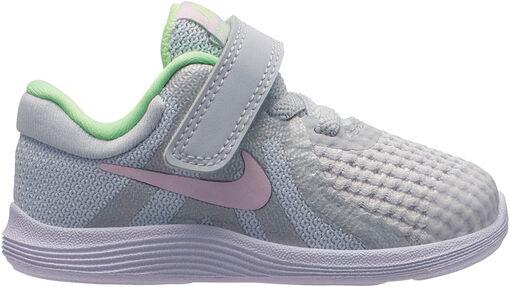 Nike - Revolution 4 (TDV) - Unisex - Zapatillas Running - Gris - 17
