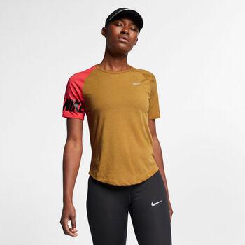 Nike  Miler mujer Amarillo