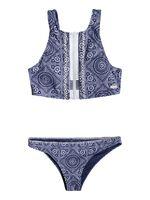 To The Beach - Conjunto de Bikini Crop Top para Mujer