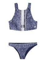 To The Beach - Conjunto de Bikini Crop Top para Mujer