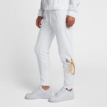 Nike Sportswear Rally Pant Reg Metallic mujer Blanco