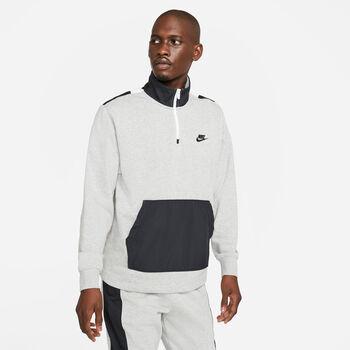 Sudadera Nike Sportswear media cremallera hombre Negro