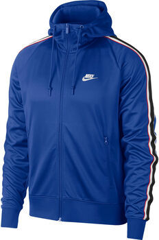 Nike M NSW HE HOODIE FZ TRIBUTE hombre Azul