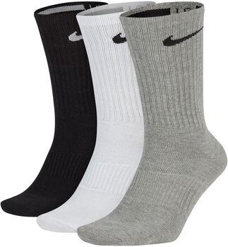 Nike Calcetines Largos Everyday (3 Pares) Blanco